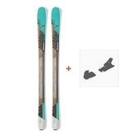 Ski Nordica Belle 78 2017 + Fixation de ski