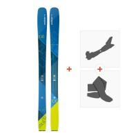 Ski Elan Ripstick 106 2018 + Fixations randonnée + Peau