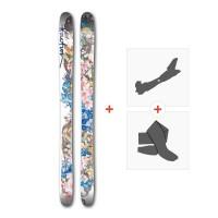 Ski Faction ProdigyW 2017 + Fixations randonnée + Peau