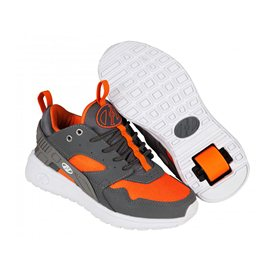 Heelys Chaussures Force Dark Grey/Grey/Orange 2017