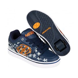 Heelys Chaussures Motion Plus Navy/Grey/Orange 2017