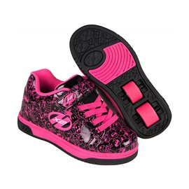 Heelys Chaussures X2 Dual Up Black/Hot Pink/Graphic 2017