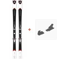 Ski Dynastar CR 74 Fluid X +  NX 12 Fluid B80 2015 ( OCCASION utilisé 1 saison )