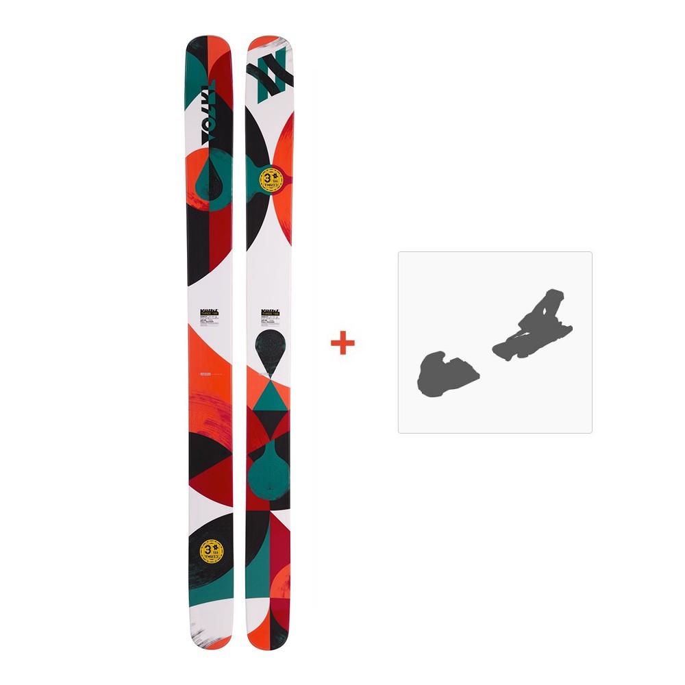 ski volkl three 2017 fixation de ski online ski shop. Black Bedroom Furniture Sets. Home Design Ideas