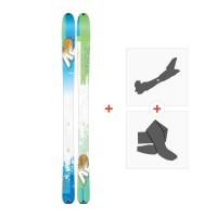 Ski K2 Talkback 96 2017 + Tourenbindung + Felle