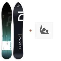 "Snowboard Dupraz D1 5'5\\"" 2017+ Ski bindings"