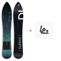 "Snowboard Dupraz D1 6\\"" 2017+ Ski bindings"