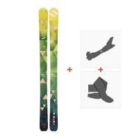 Ski Volkl Nunataq 2017 + Tourenbindung + Felle