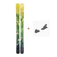Ski Volkl Nunataq 2017 + Skibindungen