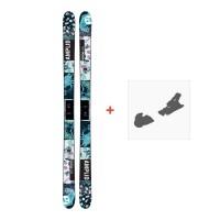 Ski Amplid Provoke 2017 + Fixation de ski