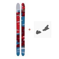 Ski Amplid Rockwell 2017 + Fixation de ski