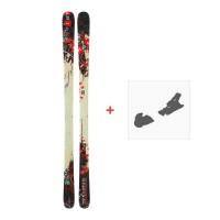 Ski Dynastar 6th Sense Superpipe + Fixation de ski