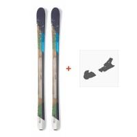 Ski Nordica Belle 84 2017 + Fixation de ski