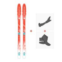Ski Dynastar Cham 87 Coral 2015 + Fixations randonnée + Peau