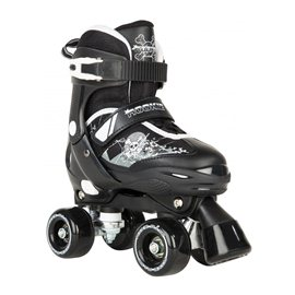 Rookie Adjustable Skate Pulse Junior Black/White 2017