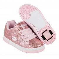 Heelys Chaussures Split Light Pink Disco Glitter 2017