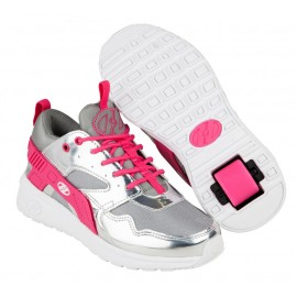 Heelys Chaussures Force Silver/Grey/Pink  2017