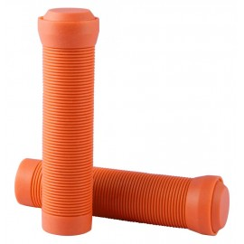 Blazer Pro Grips Flangeless With End Plugs Neon Orange 2017