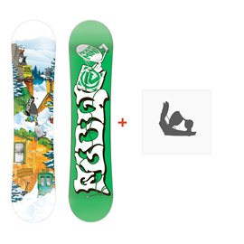 Snowboard Flow Micron Mini 2015 + Fixation