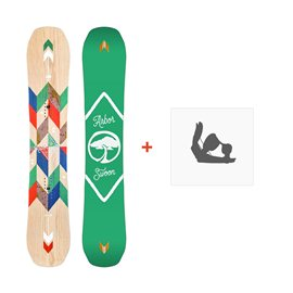 Snowboard Arbor Swoon Camber 2016 + Fixation