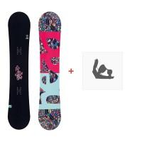 Snowboard Head Stella 2017 + Fixations