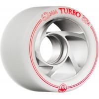 Rollerbones Quad Wheels Turbo Aluminium White/Red 2017