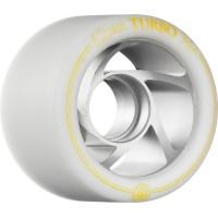 Rollerbones Quad Wheels Turbo Aluminium White/Yellow 2017