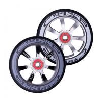 Crisp Hollowtech Spoked Wheels 110mm, Silver, Black, Black, Pair 2017
