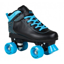 Rookie Rollerskates Starlight Black Blue