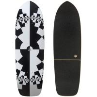 """Surf Skate Carver Fraktal 32\\"""" Deck Only"""