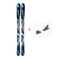 Ski Atomic Vantage Wmn 90 Cti 2018 + Fixation de ski