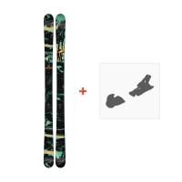 Ski Line Chronic 2018 + Fixation de ski