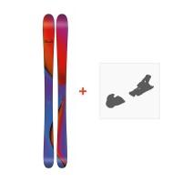 Ski Line Pandora 95 2018 + Fixation de ski