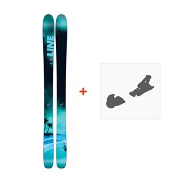 Ski Line Sick Day 104 2018 + Fixation de ski