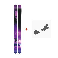 Ski Line Sick Day 114 2018 + Fixation de ski