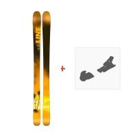 Ski Line Sick Day 94 2018 + Fixation de ski
