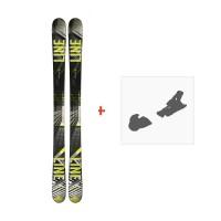 Ski Line Tom Wallisch Shorty 2018 + Fixation de ski