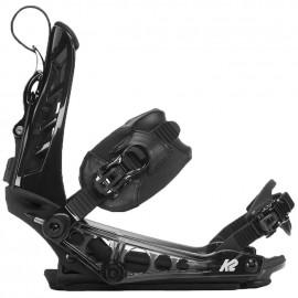 K2 Cinch Ts Black Snowboard Bindings 2018