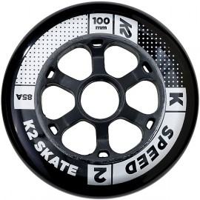 K2 100 Mm Speed Wheel 4-pack 2017