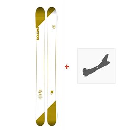 Ski Faction Candide 4.0 2018 + Fixation de ski