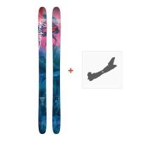 Ski Faction Heroine 2018 + Fixation de ski