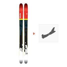 Ski Faction Prodigy 2.0 2018 + Fixation de ski
