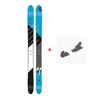 Ski Amplid Rockwell 2018 + Skibindungen