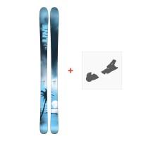 Ski Line Sick Day 88 2018 + FIxation de ski