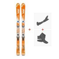 Ski Head Galactic 84 Super Light 2017 + Fixations randonnée + Peau