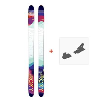 Ski Roxy Shima 90 2018 + Ski Bindings