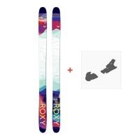 Ski Roxy Shima 90 2018 + Skibindungen