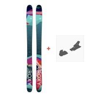 Ski Roxy Shima 96 2018 + Ski Bindings