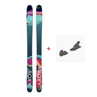 Ski Roxy Shima 96 2018 + Skibindungen
