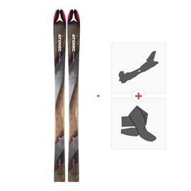 Ski Atomic Backland 95 2018 with Alpine Touring Bindings and Climbing skin